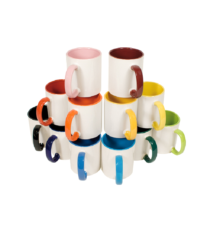 mug de couleurs