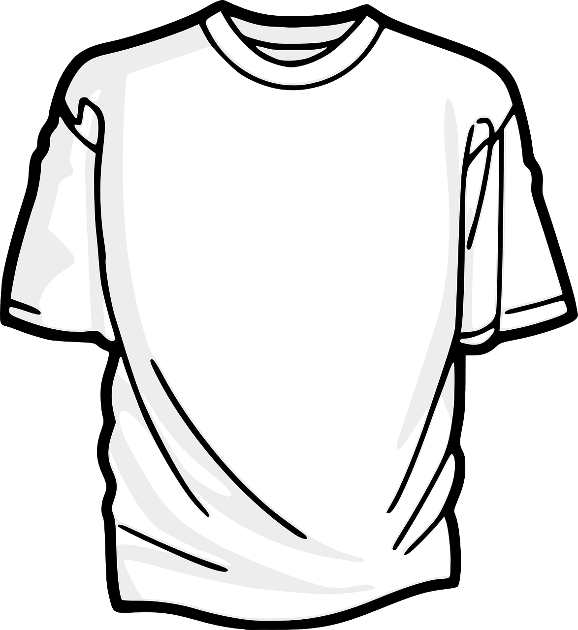 t-shirt vectoriel