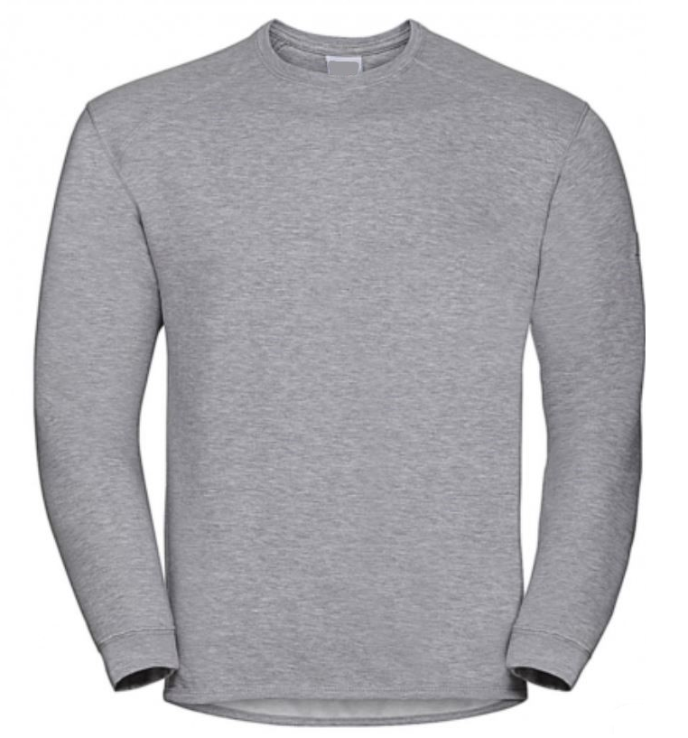 pull gris travail