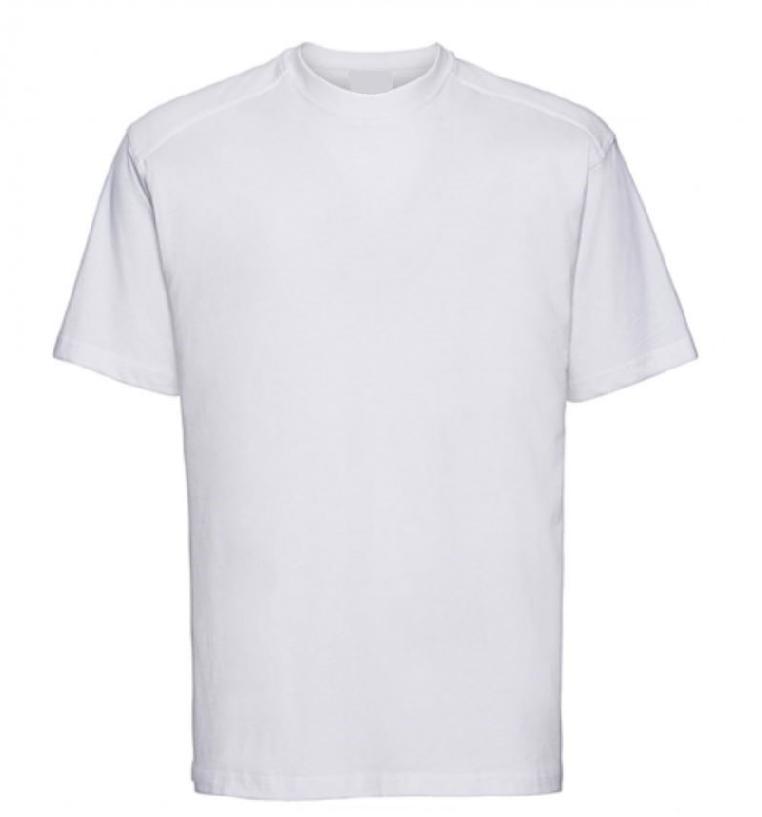 t-shirt blanc travail